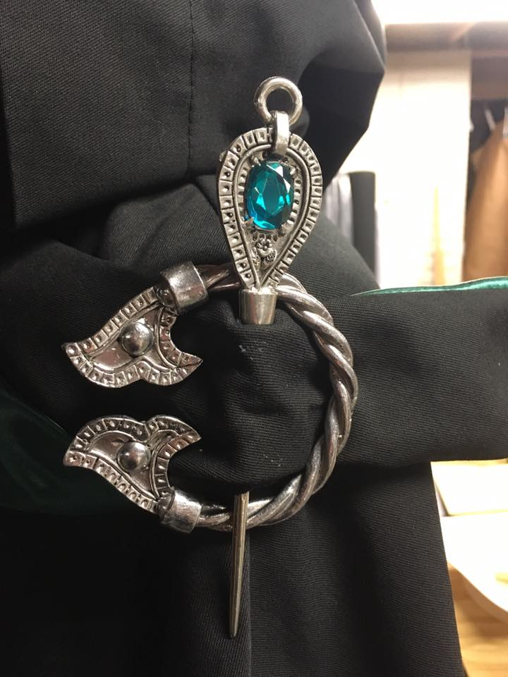 Braided Brooch